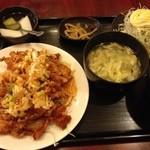 上海亭 - 油淋鶏定食