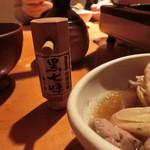 蕎麦 酒肴 京鴨 椿 - 黒七味