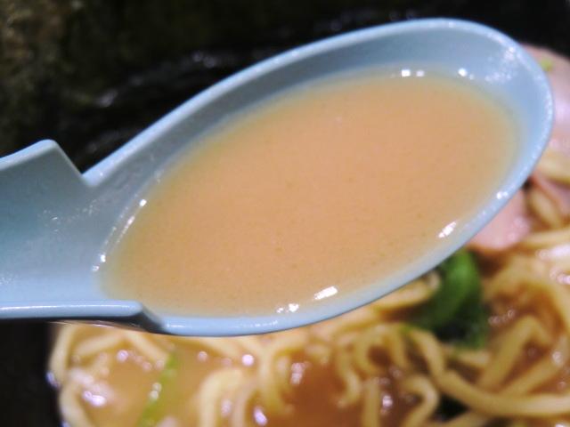 壱角家 渋谷店 - しっかり乳化したスープ♪