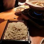 蕎麦 酒肴 京鴨 椿 - 〆の二八せいろ630円(外税)