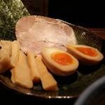 三田製麺所 - 三田盛り 300円。
