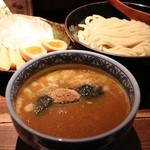 三田製麺所 - つけ麺 並 730円。三田盛り 300円。