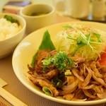 花梨 - 豚の生姜焼き