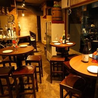 【カジュアル】お食事会&女子会におすすめ♪お洒落な空間です☆