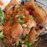 阿里城 - 定食のミニ油淋鶏