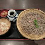 そじ坊 - 辛味大根ざるそば単品 699円