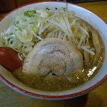 ラーメン きら星 - こってりブラック醤油ラーメン(2014年10月)