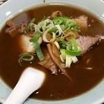 32039681 - チャーシュー麺(伝統の油こってり濃い口)