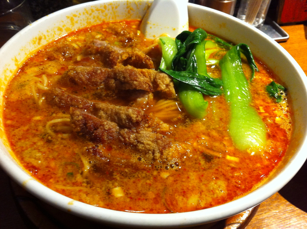 亜寿加 - 排骨担々麺
