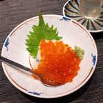 32043171 - はらこおろし(¥864)。さっぱりとした味わいと日本酒との相性は抜群!