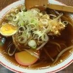 大福屋 - 天ぷら中華600円