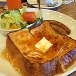 ガスト - 料理写真:フレンチトーストプレートセット(モーニングメニュー)