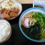 麺ますや  - 【からあげ定食 750円】