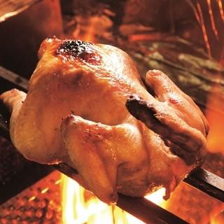 【名物】鶏の丸焼き