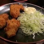 tokushimara-memmenou - 唐揚げセットの唐揚げ