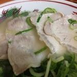 石田食堂 - 薄切り豚ちゃん