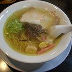 こだわり家 麺神 - ゆず塩らぁめん(780円)