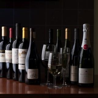 世界各種のワインを
