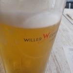 ウィラーエクスプレスカフェ - 生ビール