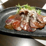 SYURAKU - 鰹のカルパッチョ¥280