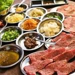 牛昇 - 料理写真:肉食姫様★薬味巻き巻き焼肉プラン