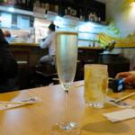 びすとろ酒場 サンビーノ トト - スパークリングワイン
