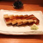 蕎麦 ろうじな - 穴子の煮こごり