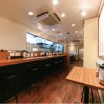 つけ麺 四代目みさわ - カウンター、テーブル席で21席!!