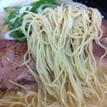 ラーメン さくら - 麺(細麺)