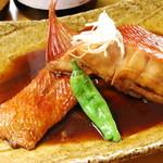海の幸五彩丼金目煮付セット
