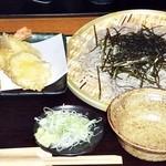 旬食・おそば なごみ - 天ぷらとそばのランチ 全景