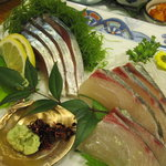 吉本 - 〆鯖と縞鯵