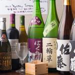 焼きとりや shin - 日本酒、焼酎、ワインも多数ご用意しております。