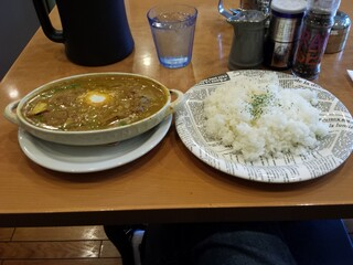 Kikuya Curry - スリランカ風豚バラ