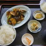中華料理福泉餃子 - なす味噌炒め
