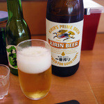 かっぱ寿司 - 瓶ビール~☆