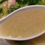 32075177 - スープはこんな感じ( ´ ▽ ` )ノ