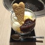 ヤキニク ユウカリ - 料理写真:和風アイスバニラ \380
