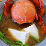 糸満漁民食堂 - アサヒガニ汁定食