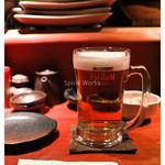 炉端 ぎんりん - 「スタートビール」