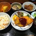 やまもと我家茶間 - 料理写真:ランチは500円