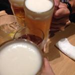 焼き鳥 きんざん - 乾杯〜