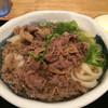 淡家 - 料理写真:温かい肉うどん
