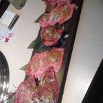 炭火焼肉 心 - 牛ぜいたく盛り 4980円