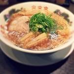 来来亭 - 料理写真:定番の醤油ラーメン