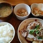 ポルカドット - (日替ごはん)豚しゃぶ豆腐ステーキ