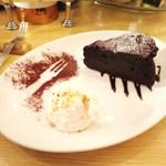 バール イスタ - チョコレートケーキ