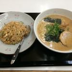 ラーメンとん太 - チャーハンセット(とん太めん+チャーハン) 800円+税