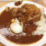 松屋 - カレギュウ 半熟卵 今日は金曜日!