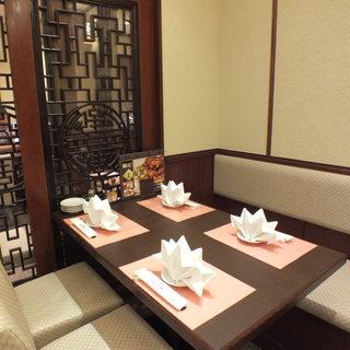 個室完備!三密空間を避け、安心してお食事いただけます。